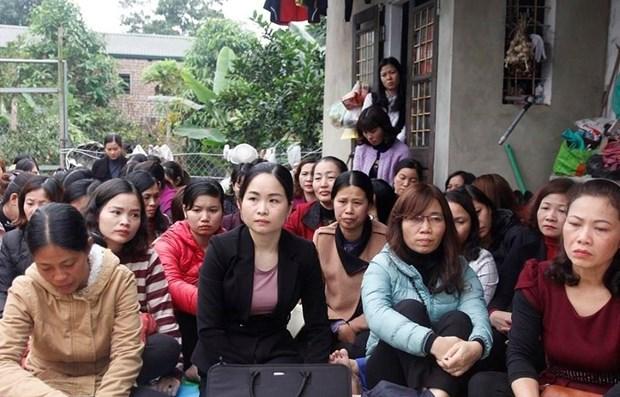 256 giáo viên hợp đồng lâu năm ở Sóc Sơn lo lắng trước nguy cơ mất việc/ Ảnh: Vietnamnet