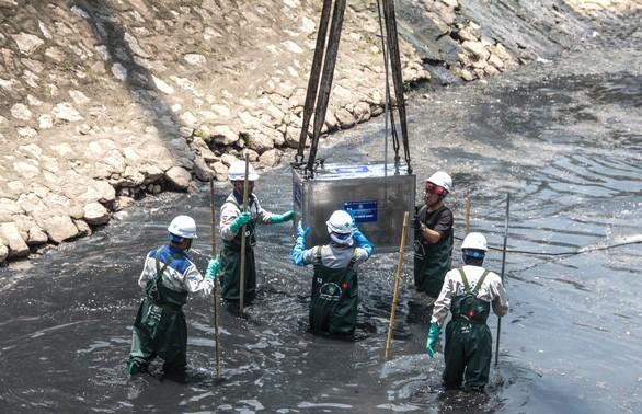 Thí điểm làm sạch sông Tô Lịch bị cho là thất bại