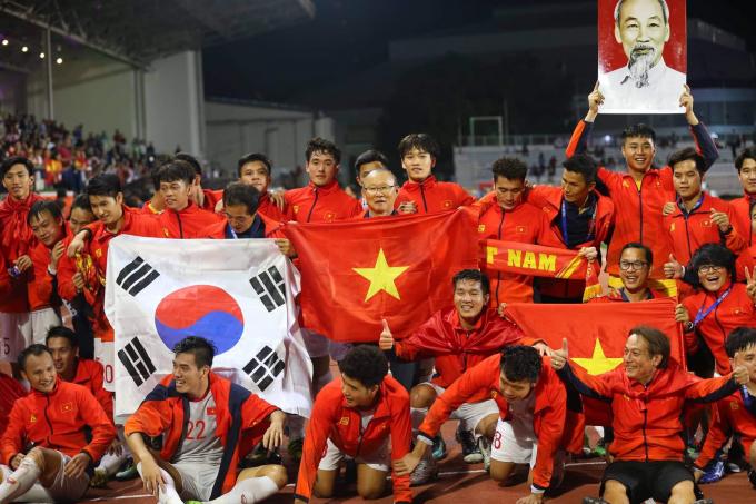 Thủ tướng mở tiệc mừng chiến thắng của bóng đá Việt Nam ở SEA Games 30