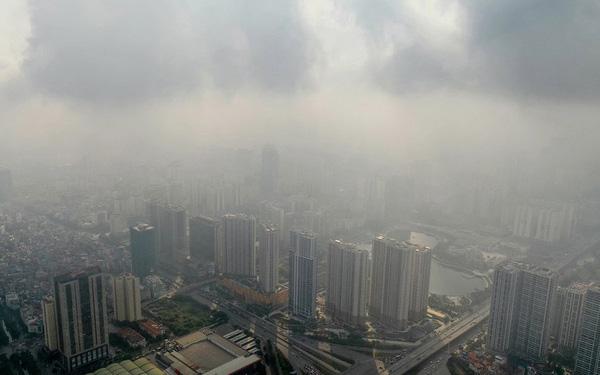 Không khí Hà Nội đang ở mức báo động nhiều ngày qua
