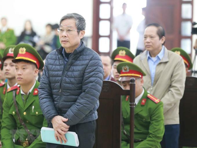 Ông Nguyễn Bắc Son tại tòa