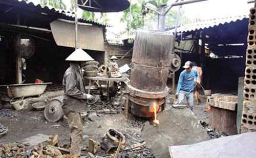 Ô nhiễm môi trường làng nghề là trăn trở lớn của GS.TS Đặng Thị Kim Chi