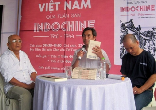 """Buổi ra mắt cuốn sách""""Việt Nam qua tuần san Indochine 1941 - 1944"""""""
