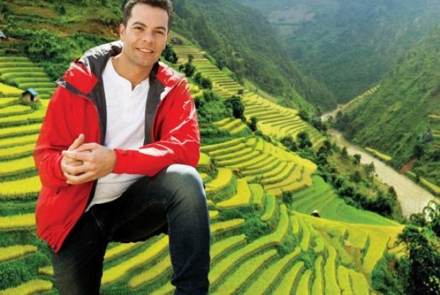 Iván Lalinde - Dẫn chương trình của Asia Express
