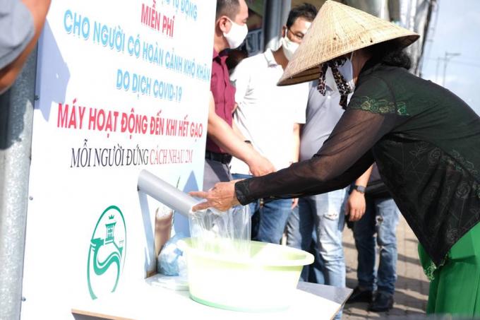 Sáng kiến ATM gạo của Việt Nam gây ấn tượng với quốc tế/ Ảnh: Giáo dục thời đại