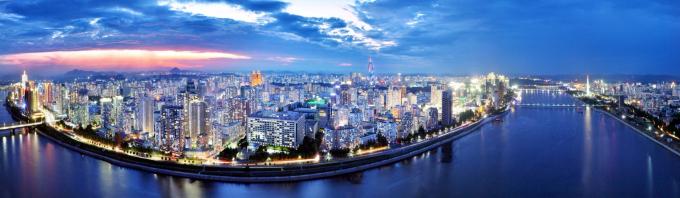 Thành phố Bình Nhưỡng về đêm