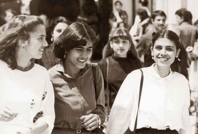 Sinh viên ĐH Kabul giữa những năm 70