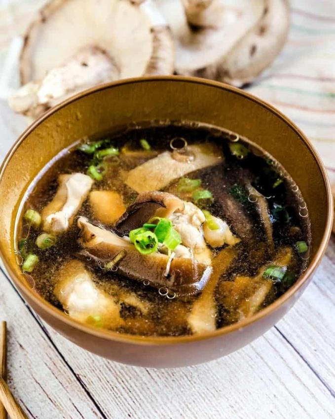 Một món ăn hấp dẫn từ nấm Shiitake