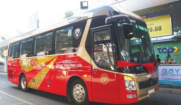 Grab triển khai dịch vụ đặt vé xe buýt trên ứng dụng