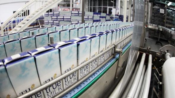 TH Milk được xuất khẩu sữa sang Trung Quốc