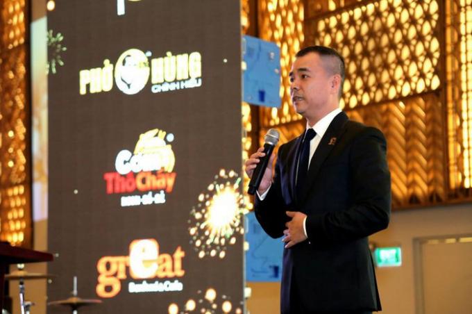 Ông Huy Nhật – Chủ tịch Hội đồng Quản trị kiêm Tổng Giám đốc của Huy Việt Nam.