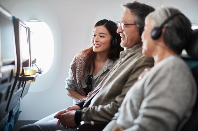 Cathay Pacific cung cấp nhiều chương trình giải trí mới trên các chuyến bay