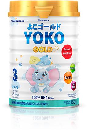 Vinamilk ra mắt sữa YOKO Gold