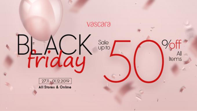 Vascara, The FaceShop giảm giá 50%, H&M giảm còn 150.000 đồng nhiều dòng sản phẩm