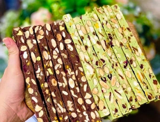 Kẹo handmade hút người mua