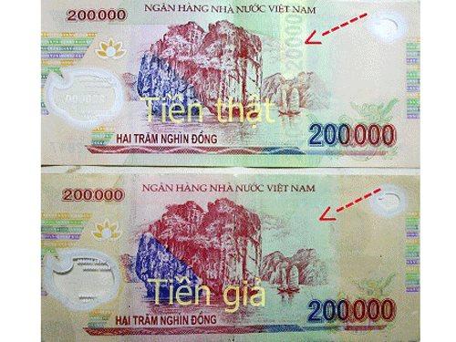 Cách phân biệt tiền thật, giả chính xác nhất