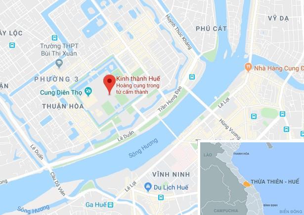 Người dân sống ở khu vực I Kinh thành Huếphải di dờikhỏi khu vực Kinh thành Huế