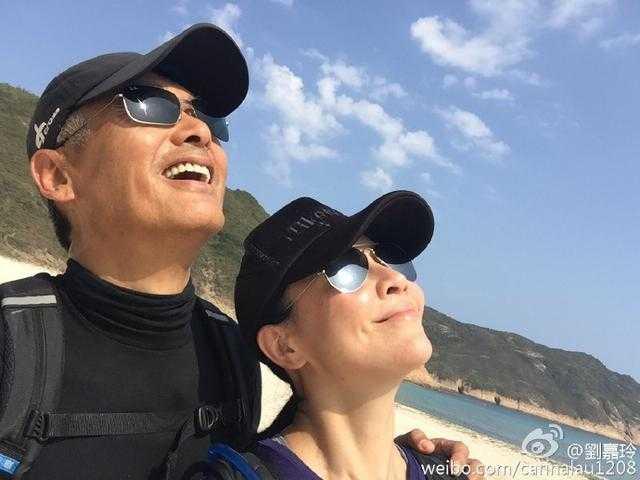 Châu Nhuận Phát vànữ diễn viên Lưu Gia Linh