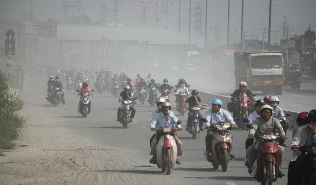 Tình hình ô nhiễm được báo động trước đó.