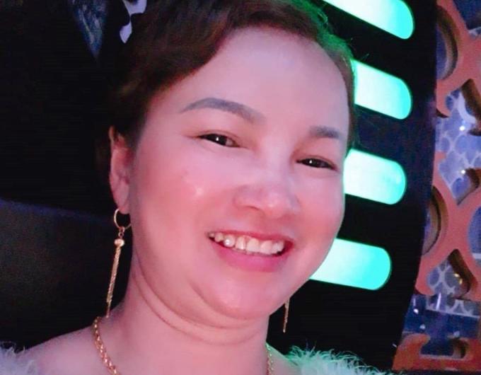 Bà Trần Thị Hiền - mẹ nữ sinh giao gà.