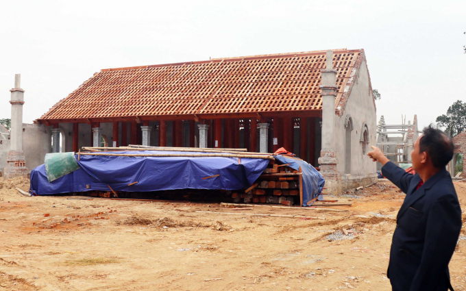 Huyện báo cáo chùa Linh Sâm không xâm lấn sang khu di tích