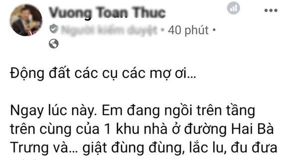 Động đất ở Cao Bằng, dân Hà Nội cũng thấy rung lắc