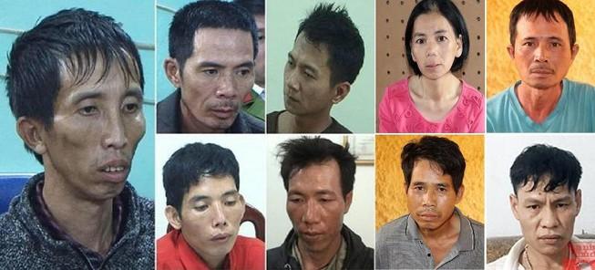 Nhóm 9 bị can bị khởi tố, bắt giam trong vụ hiếp rồi sát hại dã man nữ sinh giao gà ở Điện Biên.
