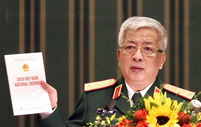 Thượng tướng Nguyễn Chí Vịnh, Thứ trưởng Bộ Quốc phòng.