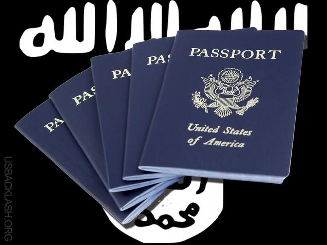 IS dùng các loại hộ chiếu giả để sang các nước.