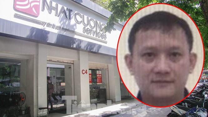 Bị can Bùi Quang Huy hiện đang bị truy nã.