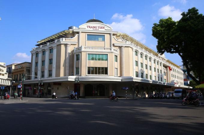 Nay đã là Trung tâm thương mại Tràng Tiền Plaza.