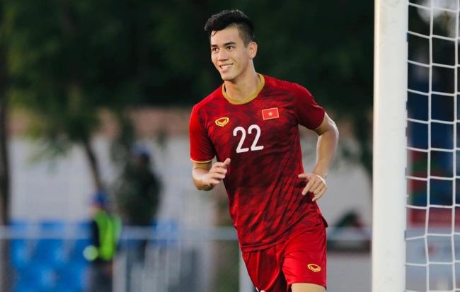 Cầu thủ Tiến Linh.