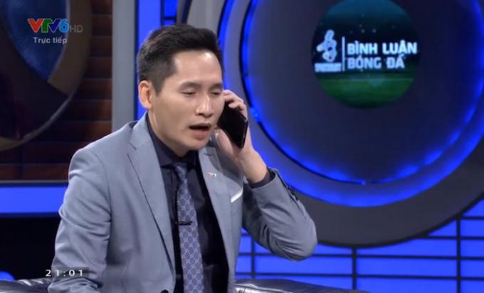 BTV xin lỗi thủ môn Bùi Tiến Dũng trên sóng truyền hình