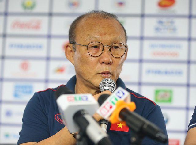 HLV Park Hang Seo mong muốn truyền thông không đưa danh sách trước khi đội thi đấu