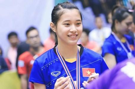 Nhan sắc xinh đẹp của các VĐV nữ đoàn thể thao Việt Nam ở SEA Games 30
