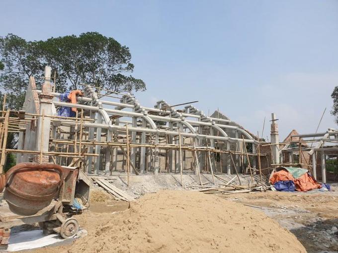 Sở Văn hóa và thể thao Nghệ An vừa đề nghị  xử lý nghiêm vụ chiếm đất xây chùa Linh Sâm