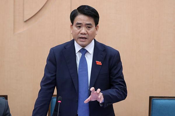 Chủ tịch UBND TP Hà Nội, ông Nguyễn Đức Chung.
