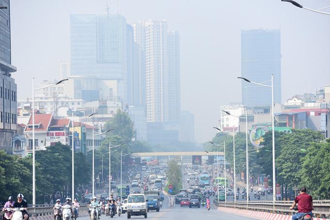 Chất lượng không khí được dự báo sẽ cải thiện trong các ngày tới.