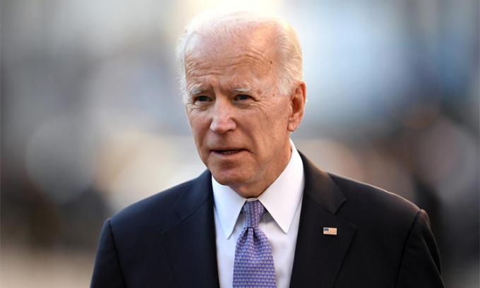 Cựu Phó Tổng thống Joe Biden. Ảnh: Reuters