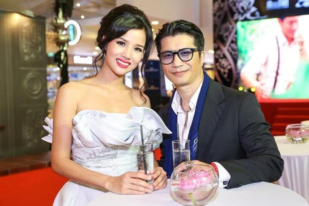 Dustin Nguyễn và vợ