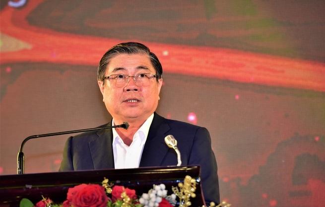 Chủ tịch UBND TP HCM, ông Nguyễn Thành Phong.