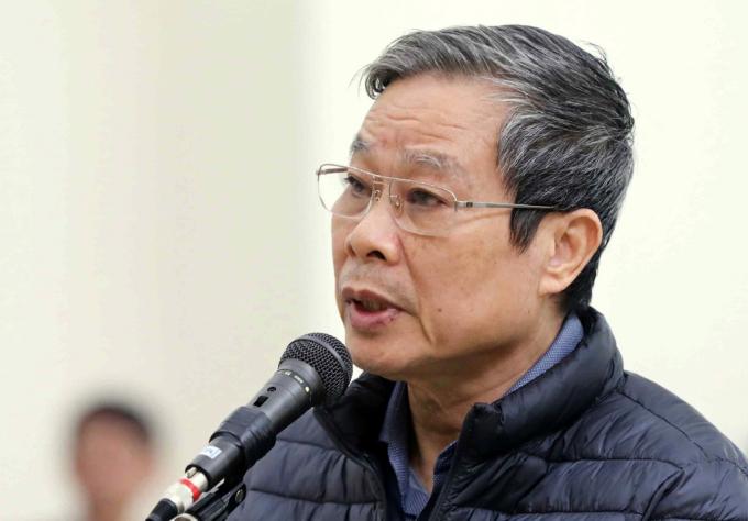 Bị cáo Nguyễn Bắc Son.
