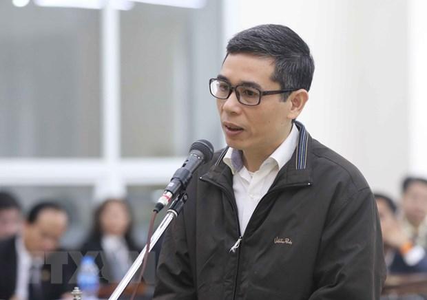 Bị cáo Phạm Đình Trọng.