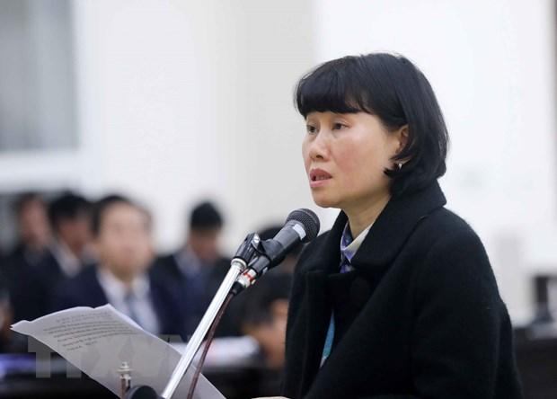 Bị cáo Phan Thị Hoa Mai.