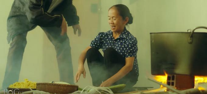 Một phân cảnh của bà Tân Vlog trong phim