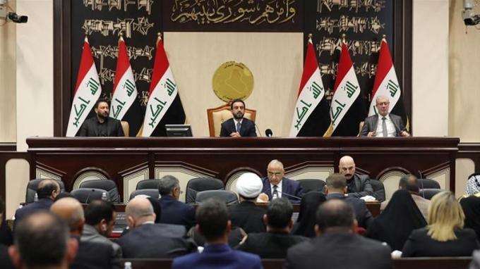 Quốc hội Iraq đã thông qua nghị quyết yêu cầu chấm dứt hiện diện quân sự nước ngoài. Ảnh: REUTERS