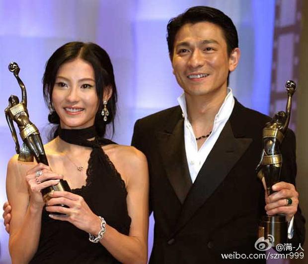 Lưu Đức Hoa và Trương Bá Chi.