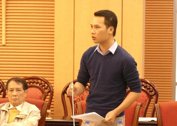 Tiến sĩ Nguyễn Xuân Thủy, Học viện Cảnh sát nhân dân, nêu đề xuất tại hội nghị.