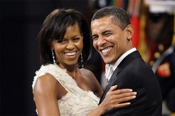 Vợ chồng Cựu Tổng thống Barack Obama.