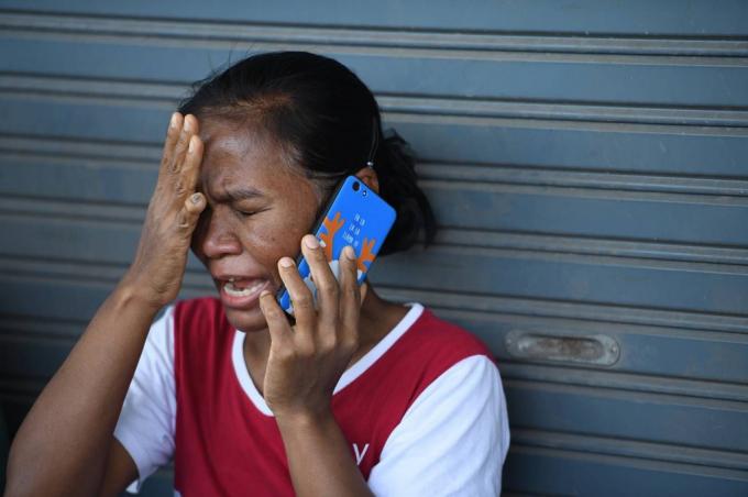 Con trai của bà Anong Somwan, Atiwat Promsuk, là một trong những nạn nhân.
